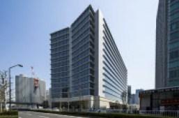 清水建設はまず自社ビルへの電力供給を今月中に始める(横浜市)