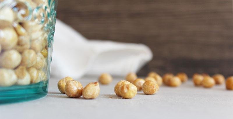 Roasted Salt and Vinegar Chickpeas