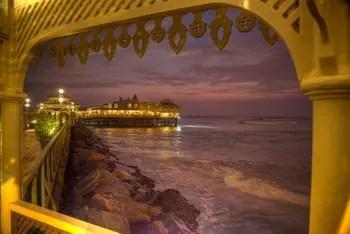 La Rosa Nautica - bestes Restaurant in Lima. Grandioser Meerblick inklusive.