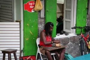 Handwerk auf Dominica.