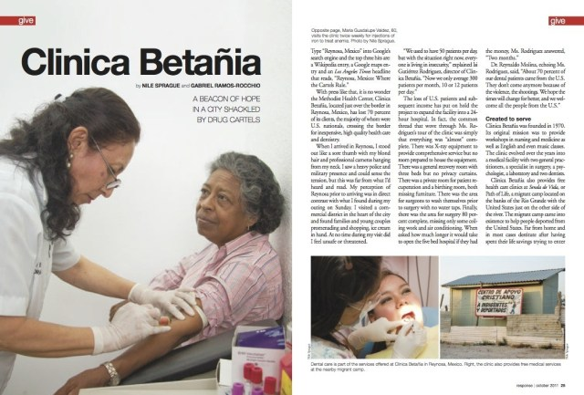 Clinica Betañia, Reynosa, Mexico