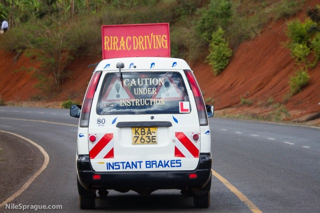 Instant Brakes Pirac Driving Instruction, Kenya