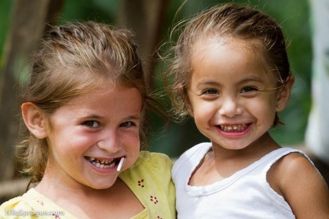 Girls of La Pita, Matagalpa, Nicaragua
