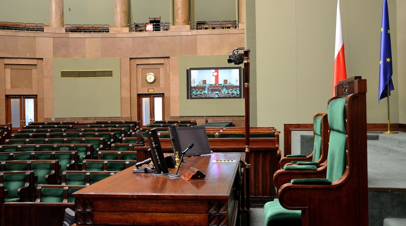 Marshal's_chair_Sejm_Plenary_Hall