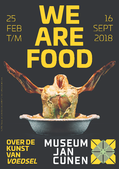 We Are Food POSTER A3