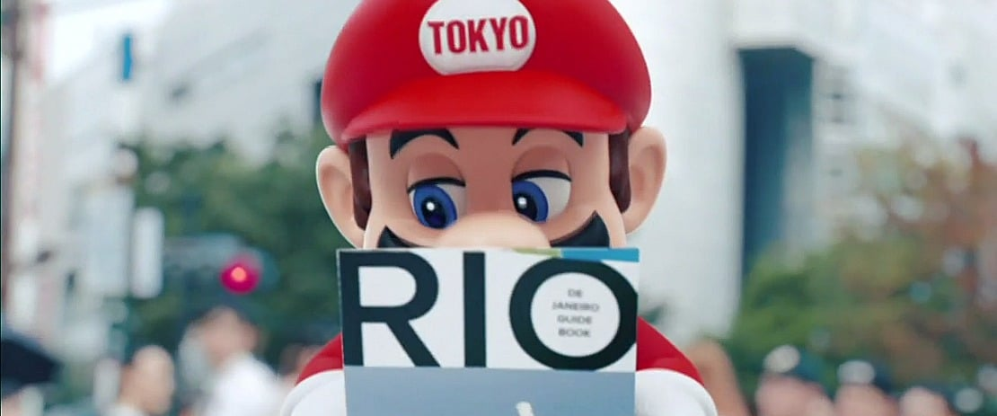 Super Mario Stars In Rio 2016 Olympic Closing Ceremony