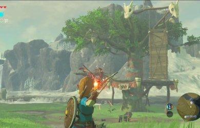 Zelda Breath of the Wild wii u nx