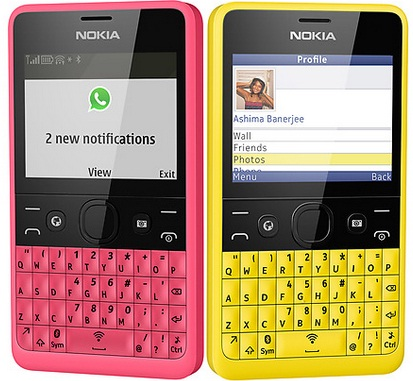 Nokia Asha 210 Price in india