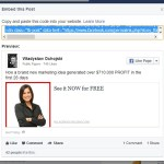 How to Embed Facebook Post on Website - It can be done easily!