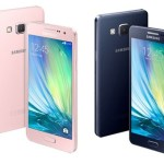 Samsung Galaxy A3 and Galaxy A5 with Metallic Build and Slim Design Announced
