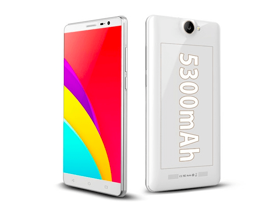 Bluboo X550 is Android 5.1 & 5300mAh battery powered phone for $169