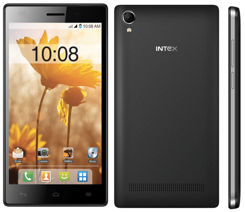 Intex Aqua Power+ introduced at 8,999INR - 5inch screen, 4,000mAh battery & 2GB RAM