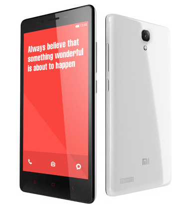 Xiaomi Redmi Note 4G - Best Android smartphone under 10,000INR with 2GB RAM in India