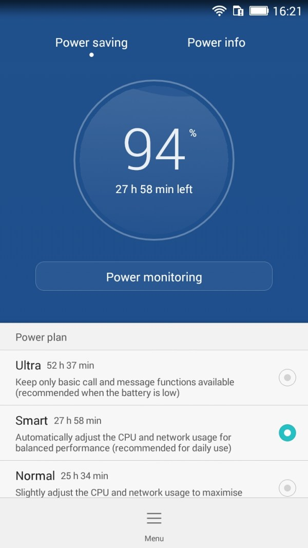 Power Saving Honor 4x