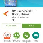 CM Launcher 3D by Cheetah Mobile - App Review