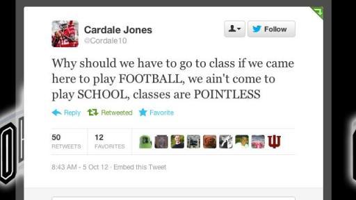 Tell it like it is, Cardale!