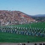 Blue Band Prepares to March