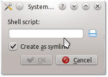 System Settings - Startup and Shutdown - Add Script dialog