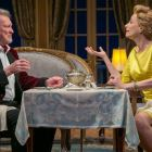 """Edmond Genest and Laila Robins co-star in """"A Song at Twilight,"""" which is at the Shakespeare Theatre of New Jersey in Madison through May 29."""