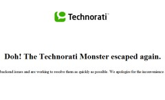 technorati duh copy 240x145 Technorati troubles keep on coming photo