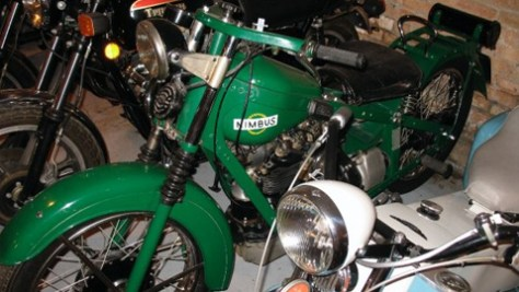 nimbus 480 My cousin Stephen Pate opens Italian motorcycle shop in Windy City photo