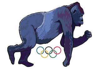 IOC 800 lb Gorilla Olympics lawyers switch bullying to new targets photo