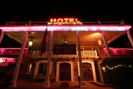 The famous El Rancho Hotel