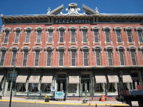 The famous Plaza Hotel in Las Vegas, New Mexico
