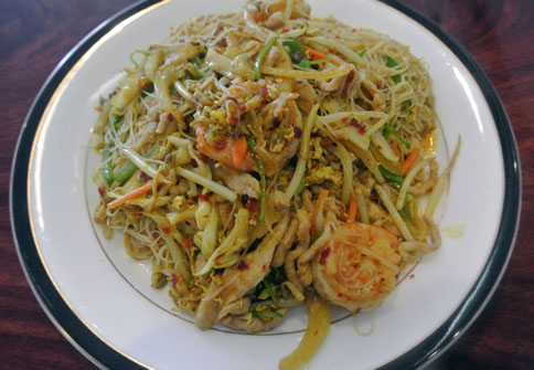 Singapore Rice Noodle