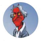 Noam Chomsky démon