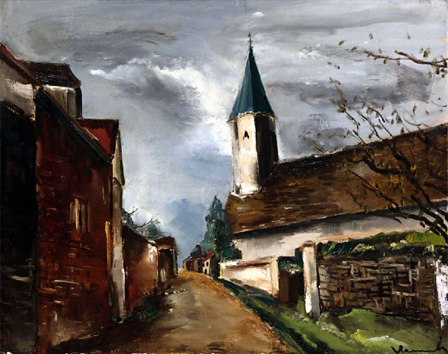 Maurice Vlaminck Eglise de Franconville