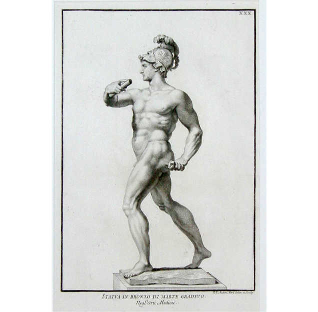 Classical Greek and Roman Statuary Print