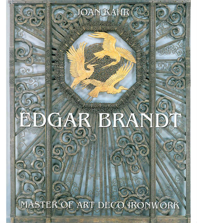 edgar brand art deco ironwork book by joan kahr