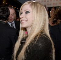 Avril Lavigne. Photo by Ros O'Gorman.