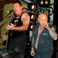 Angry Anderson and Rose Tattoo. Photo by Ros O'Gorman.