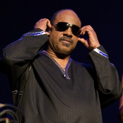 Stevie Wonder Says We Should Celebrate Aretha Franklin And Continue     Stevie Wonder image by Ros O Gorman