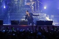 Adam Lambert with Queen in Kiev photo from Queenonline.com
