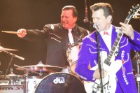 Chris Isaak, Kenney Dale Johnson, Denny Blues Fest, 2013, Ros O'Gorman, Photo