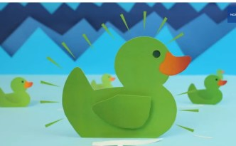 Green Duck