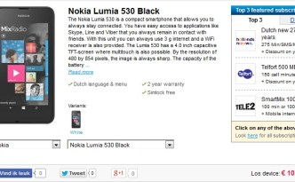 Lumia 530 dutch