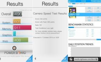 Lumia 830 benchmark