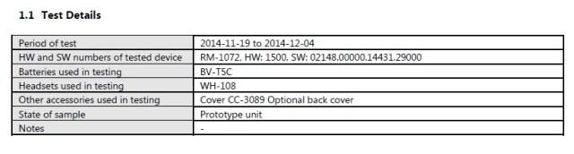 RM-1072 FCC