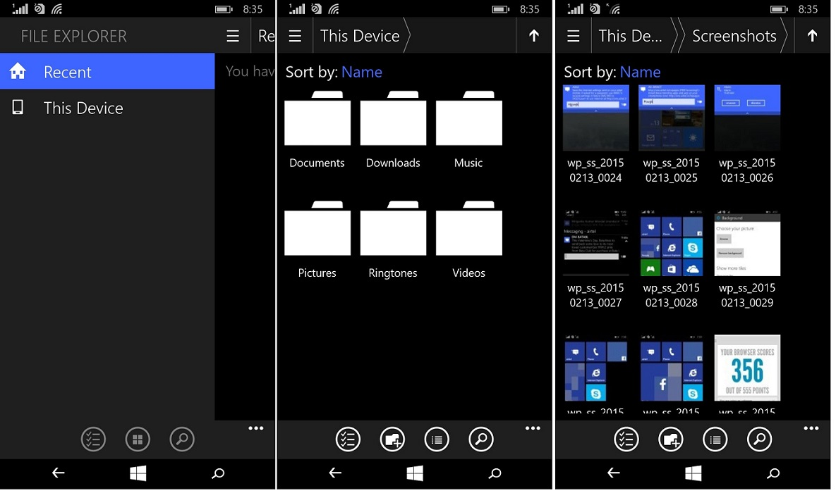Things I really love about Windows 10 for Phones preview