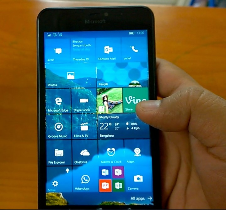 Windows 10 mobile build 10586 11 on lumia 640 xl amp lumia 525 hands on