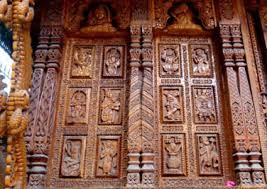 Tourist places to visit in Sangla valley hill station - Tibetan Wood Carving Center