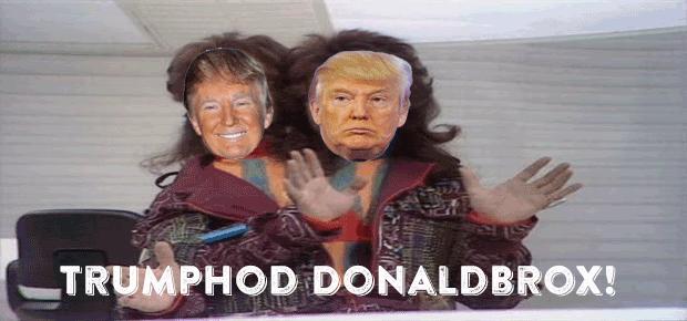 Trumphod Donaldbrox  – Donald Trump and the Politics of Politics