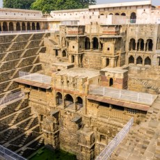 Ancient Step Well in Jaipur