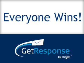 getresponse everyone wins promotion