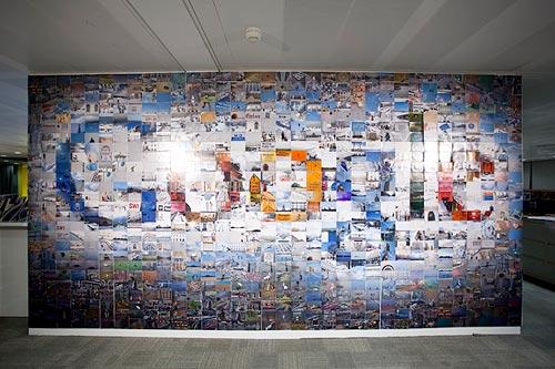 google logo mosaic