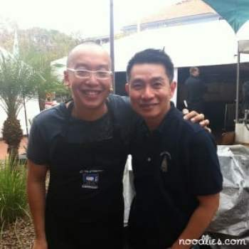 Alvin Quah and Thang Ngo from noodlies